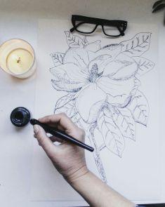 Tinta y plumilla, de Julia